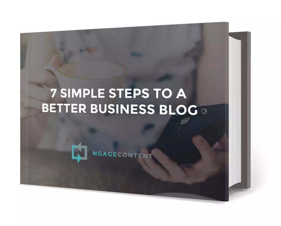 7 simple steps to a better business blog ebook