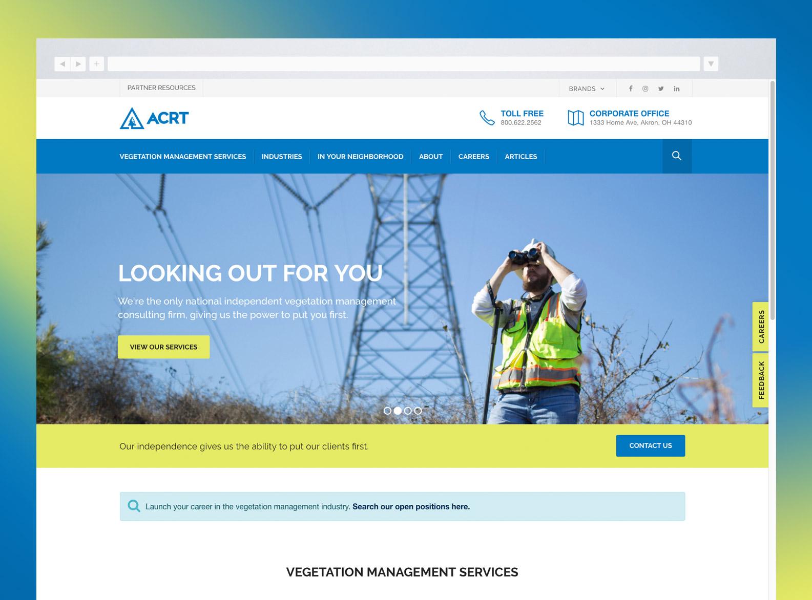 ACRT Website