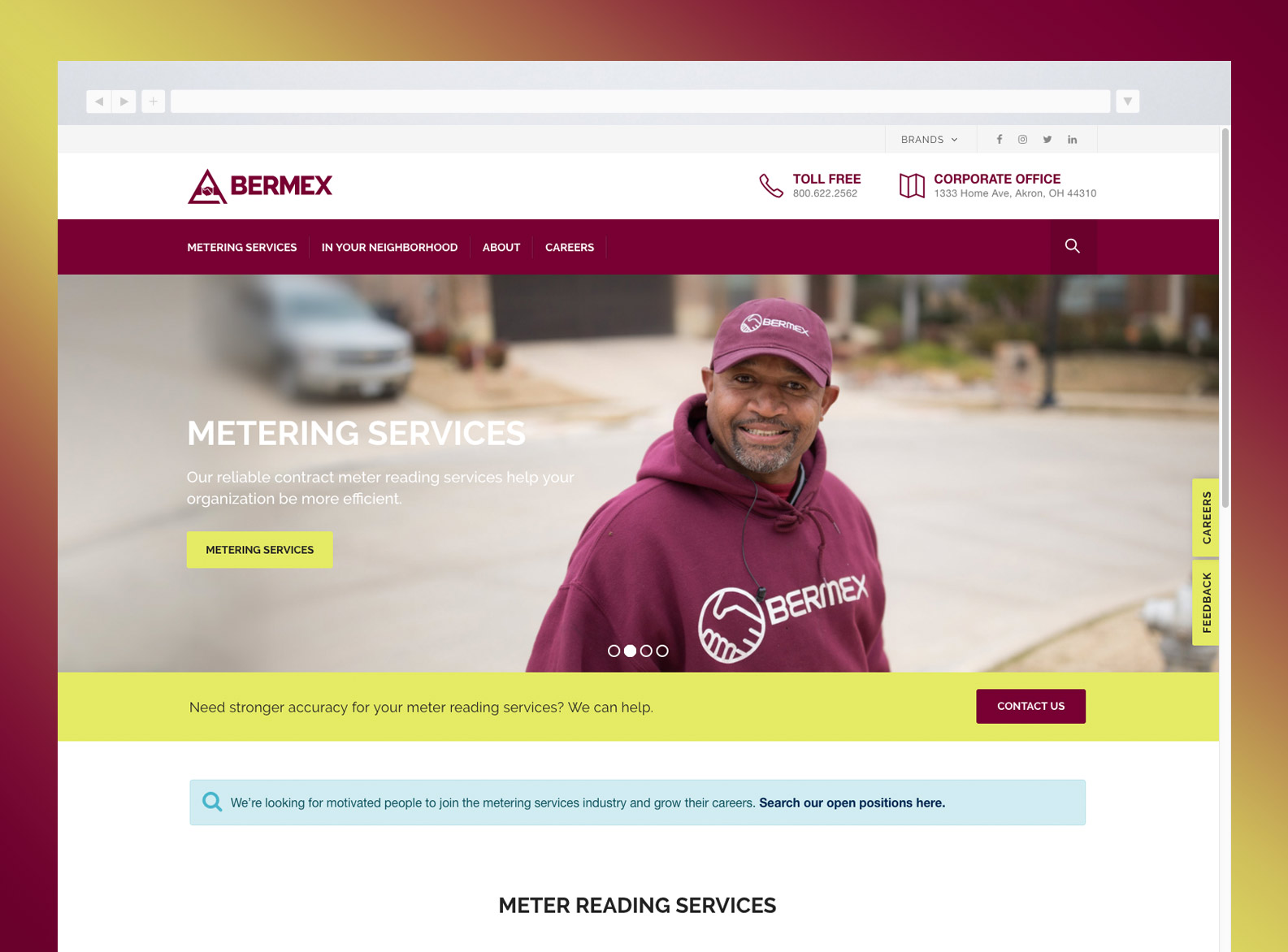 Bermex Home page