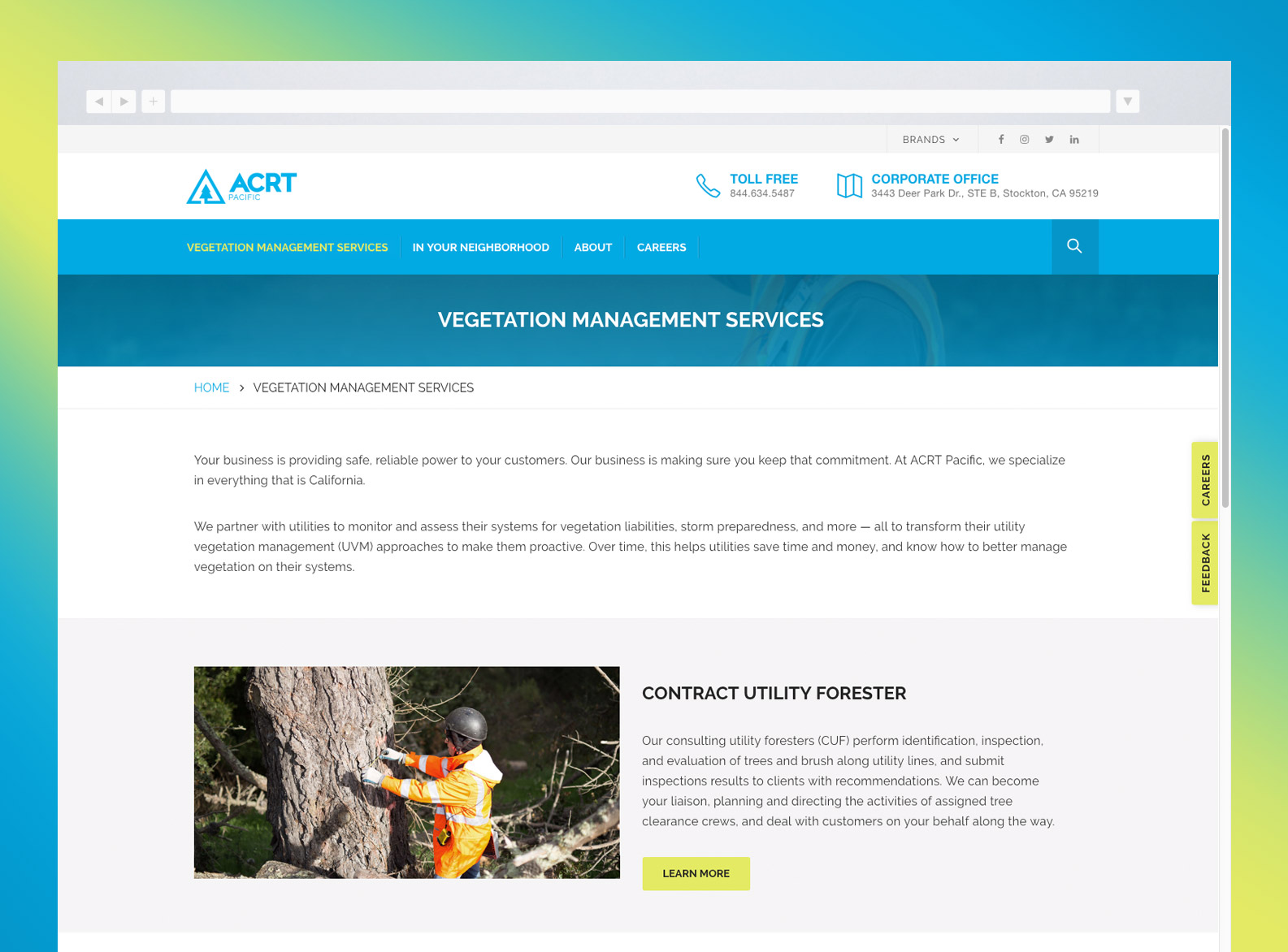 ACRT Pacific Website Services