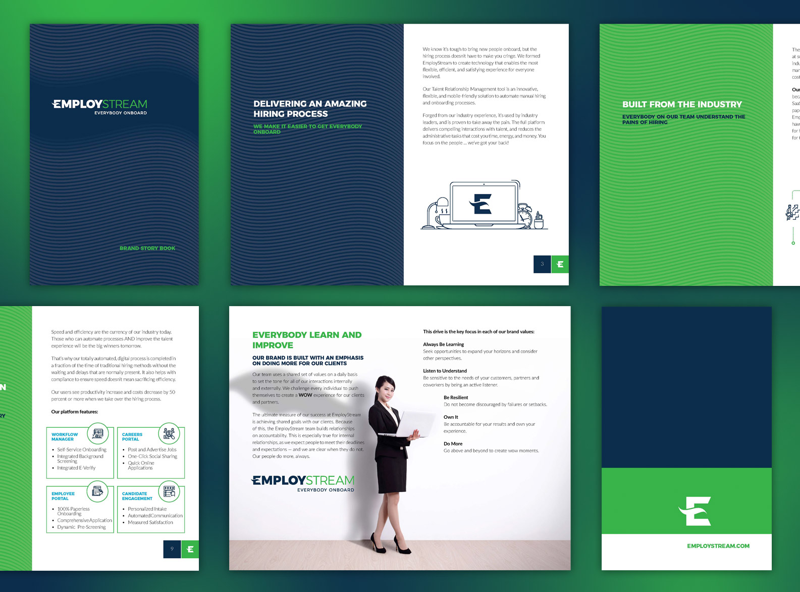 EmployStream brand book