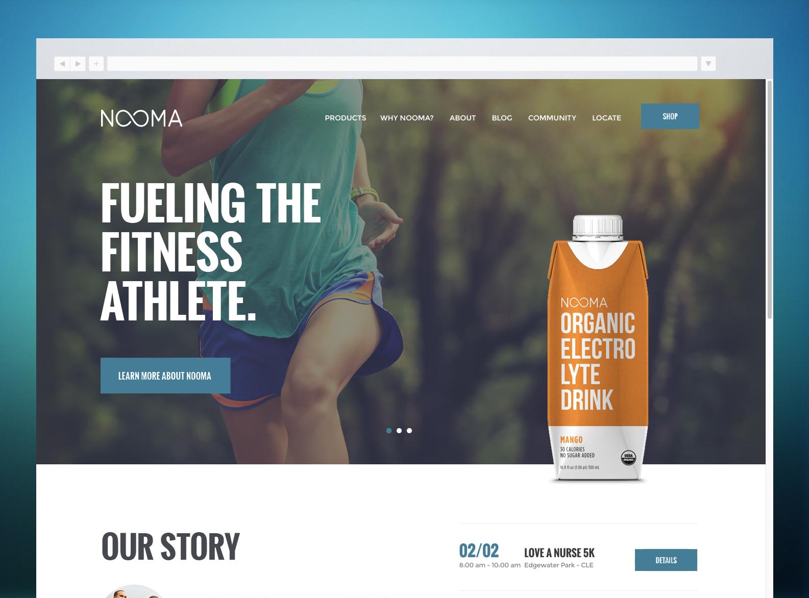 NOOMA Website