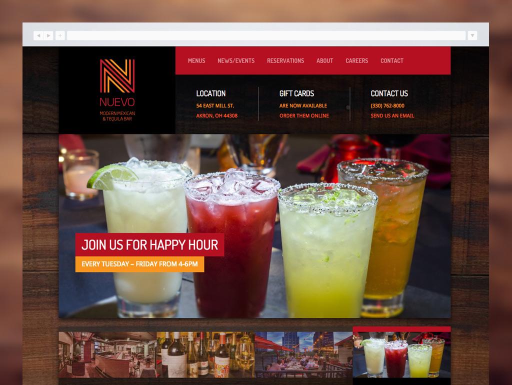 Nuevo Modern Mexican Website