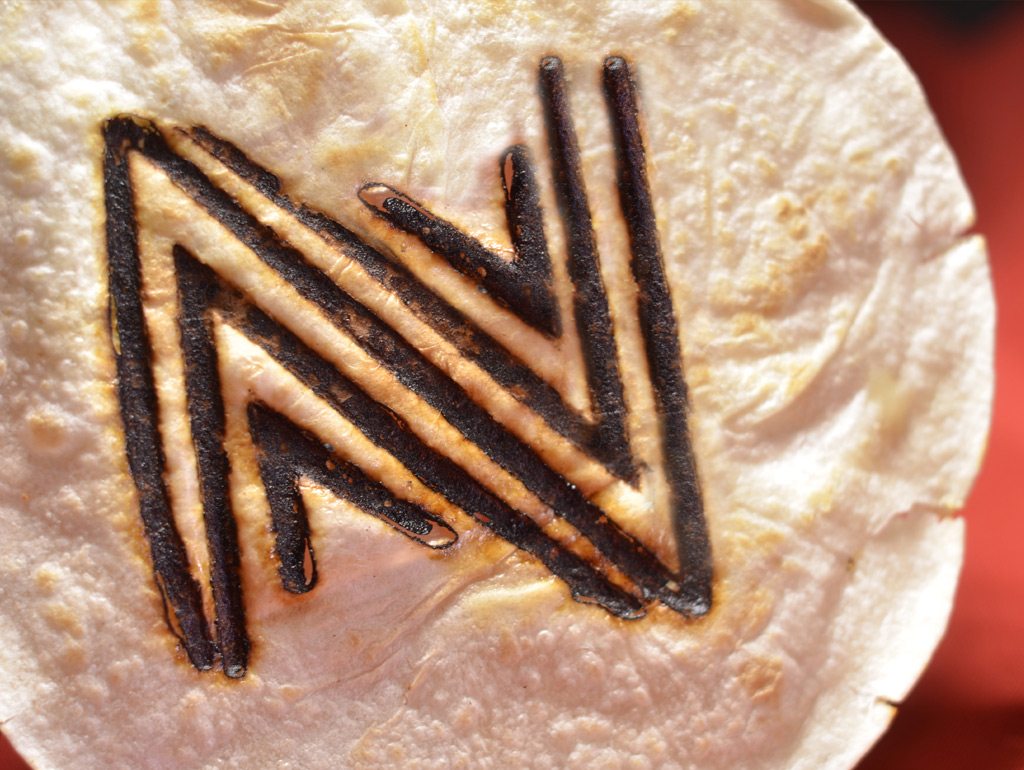Nuevo Modern Mexican Website Branded Tortilla