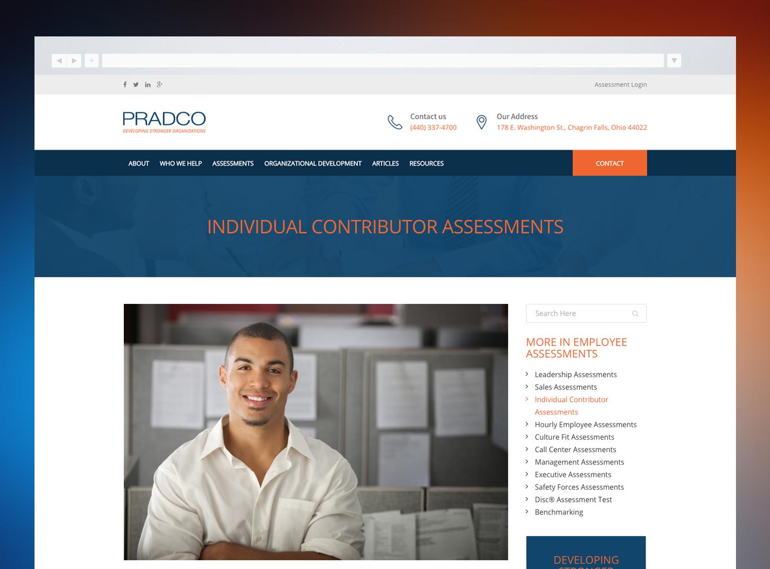 PRADCO Website Coaching