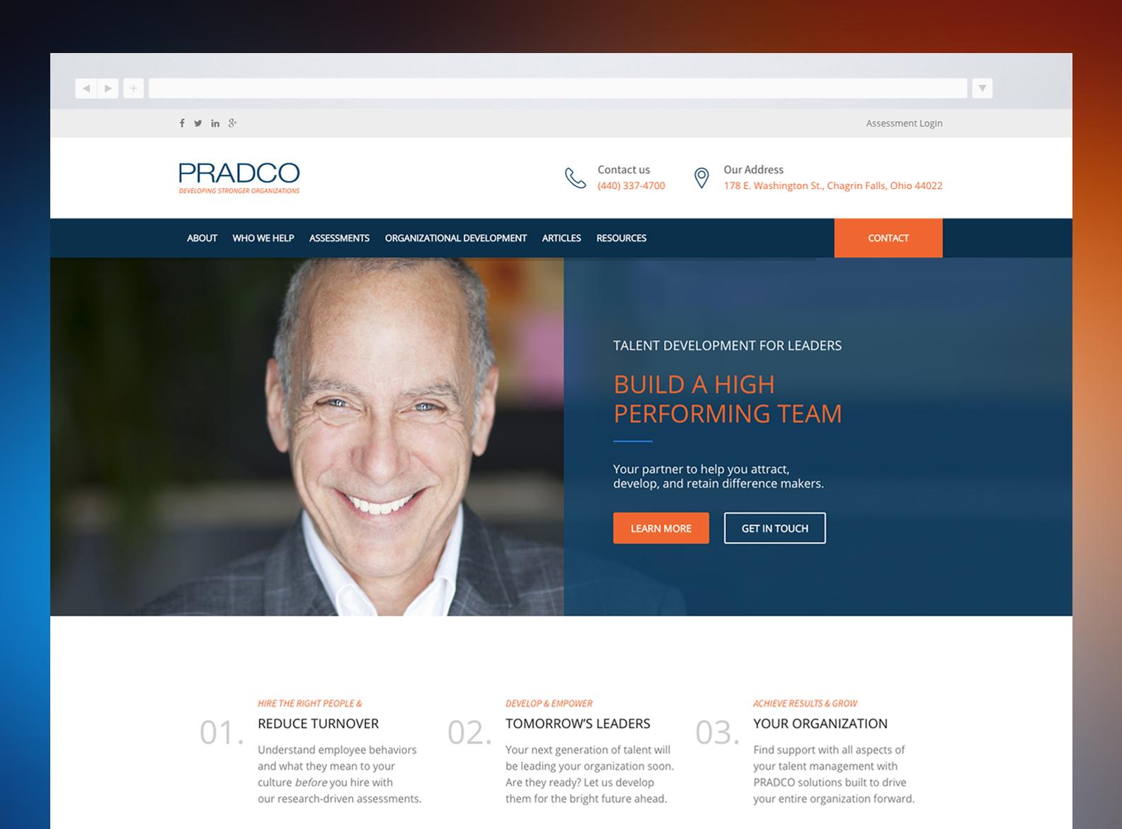 PRADCO Website