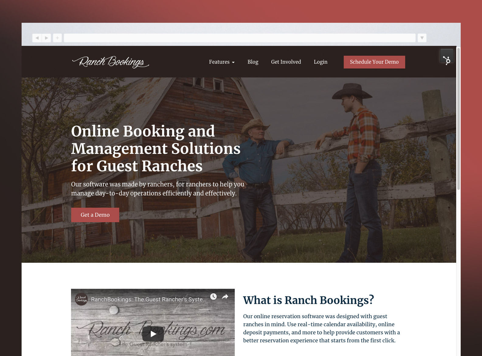 Ranch Bookings